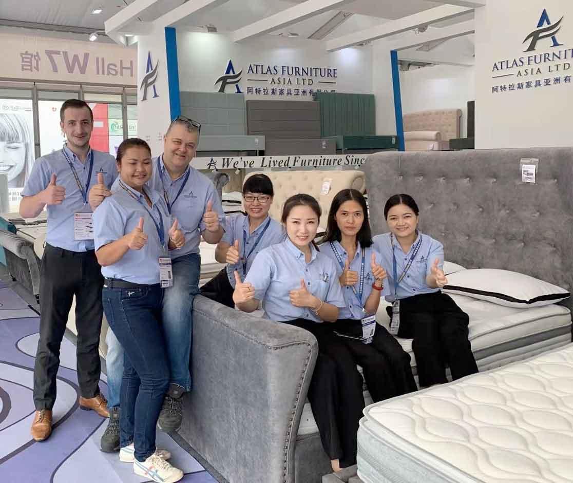 The Atlas Furniture Asia Sales Team