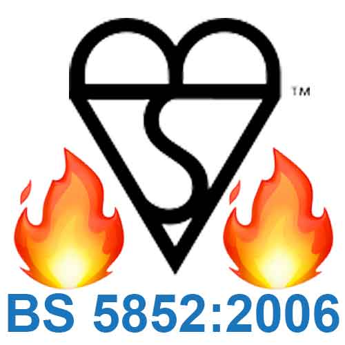 BS5852 – 'UK Fire Resistance' (UKFR) logo