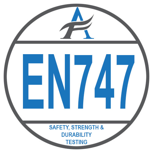 EN747 – Safety, Strength & Durability Testing logo