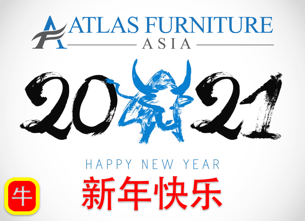 Happy New Year - 2021 - The Year of the Metal Ox - Atlas Furniture Asia